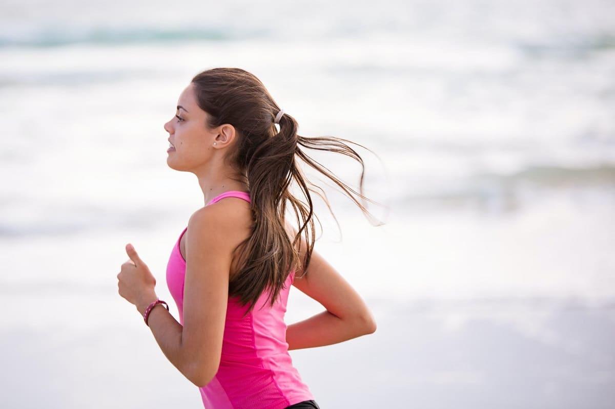 Hacer ejercicio para estar sana