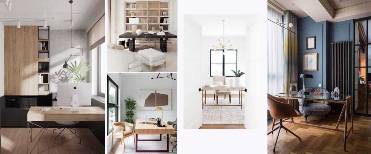 De diseño contemporáneo y orientada a la puerta