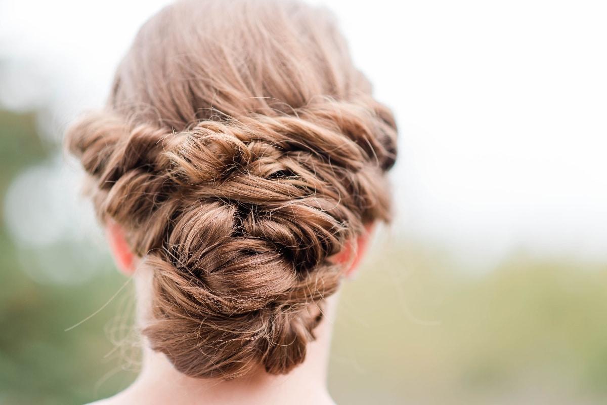 Peinados para boda civil