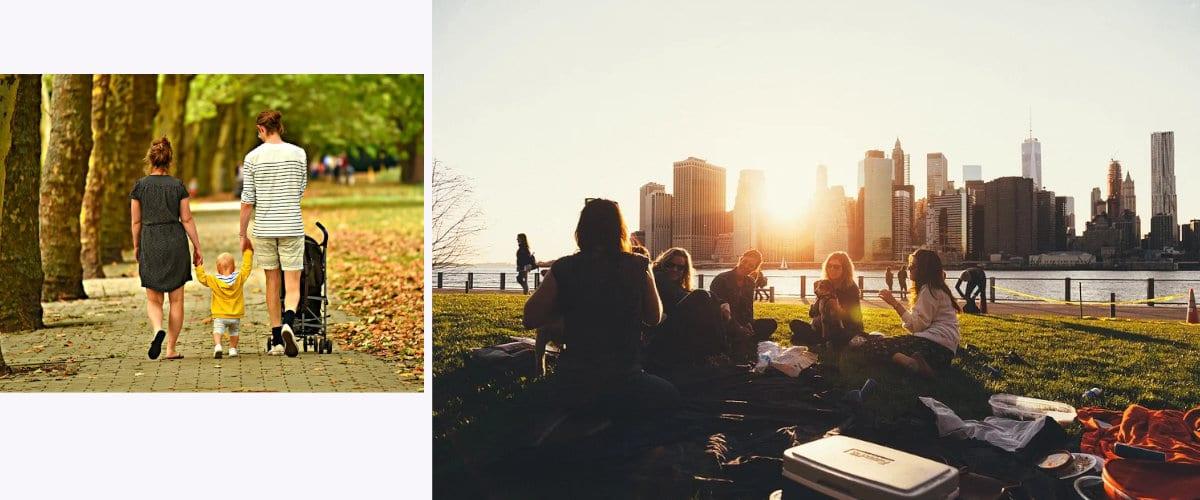 Disfruta de los parques
