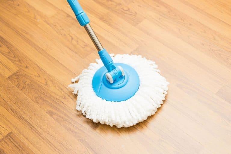 Limpieza del suelo vinílico