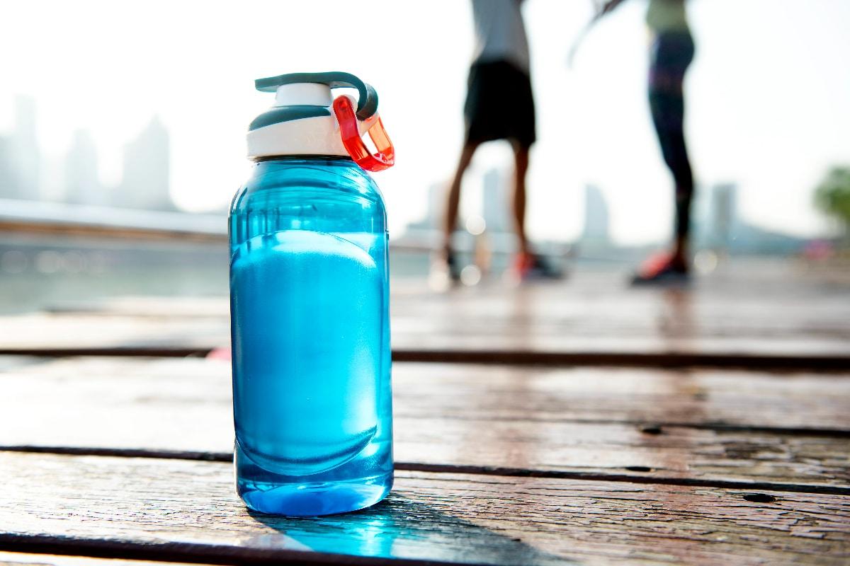 ejercicios con botellas de agua
