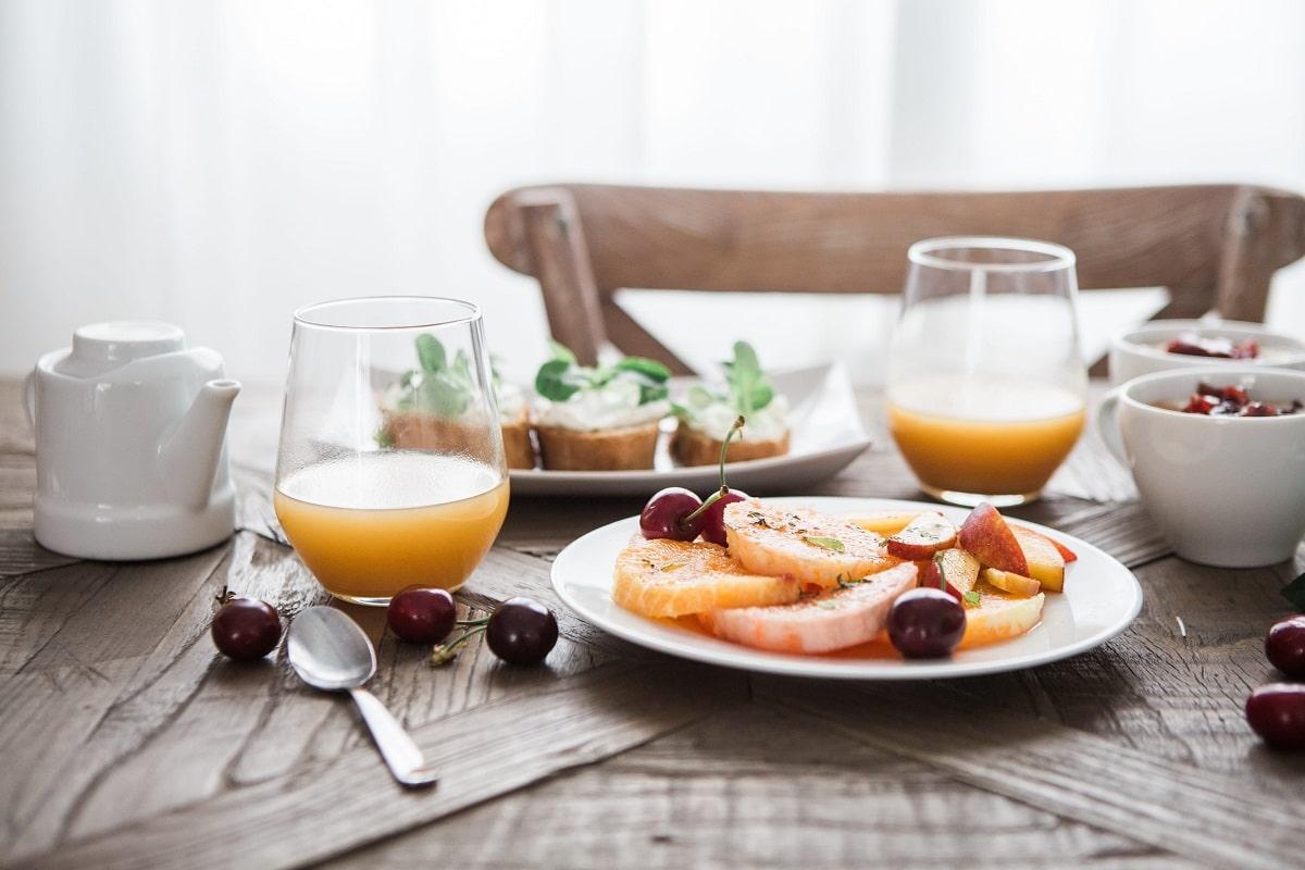 Comidas saludables con vitaminas