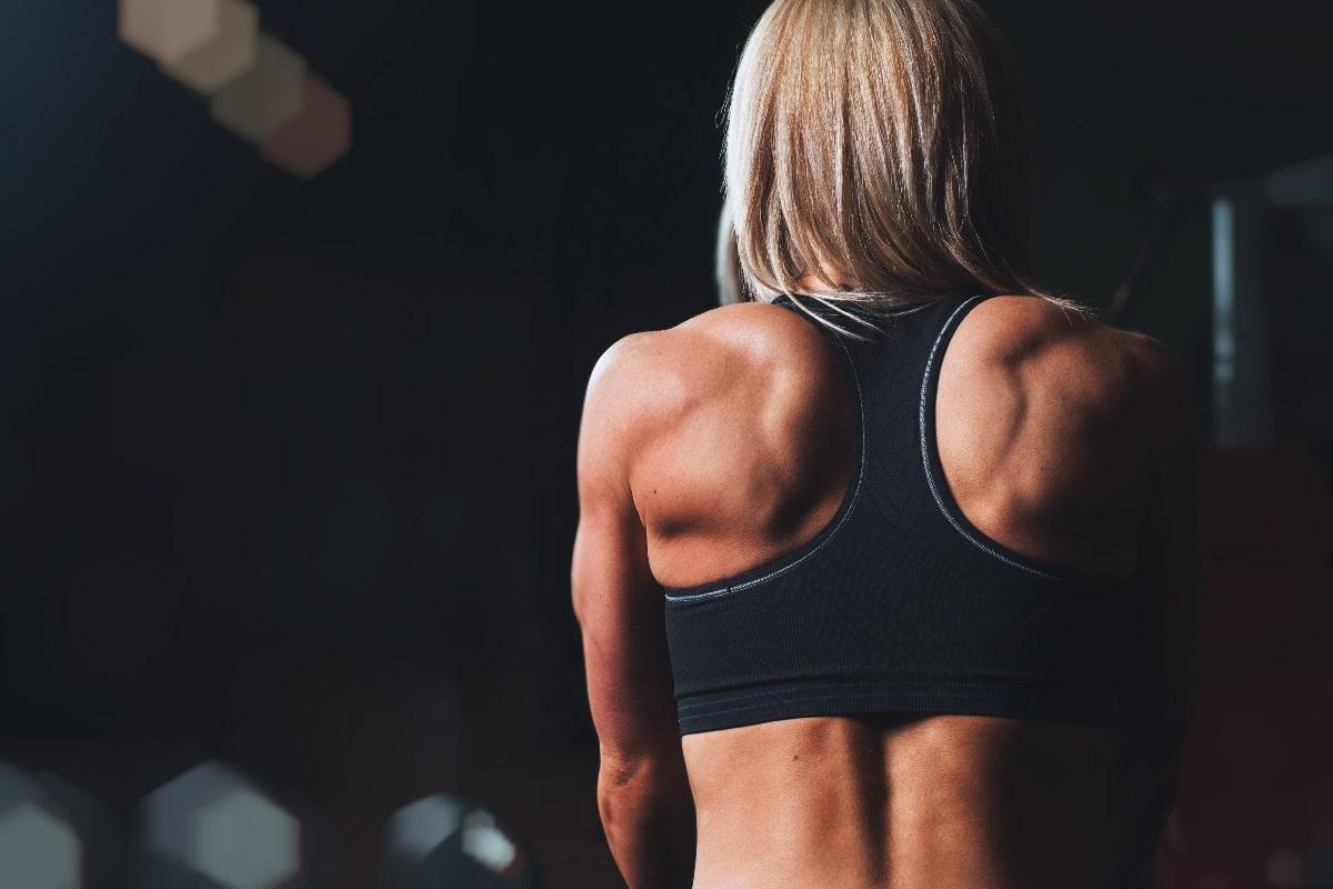 Ganar músculo mujer