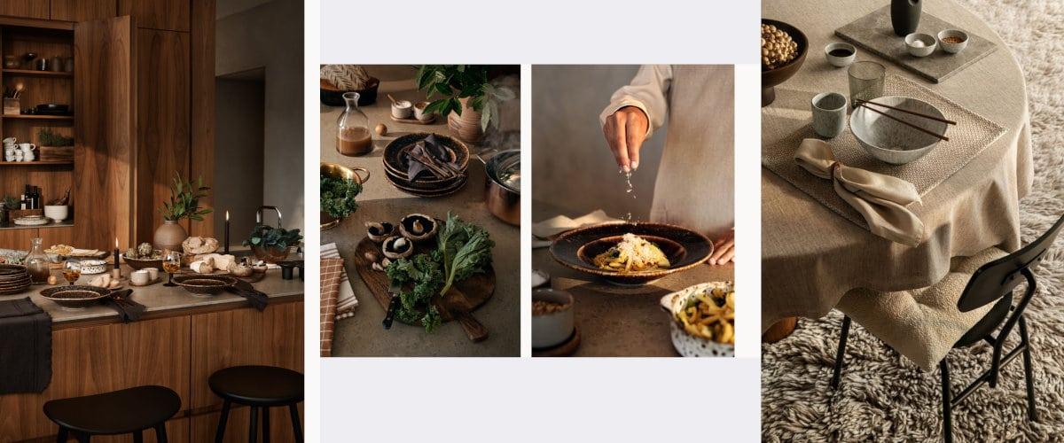 Viste la mesa con H&M Home