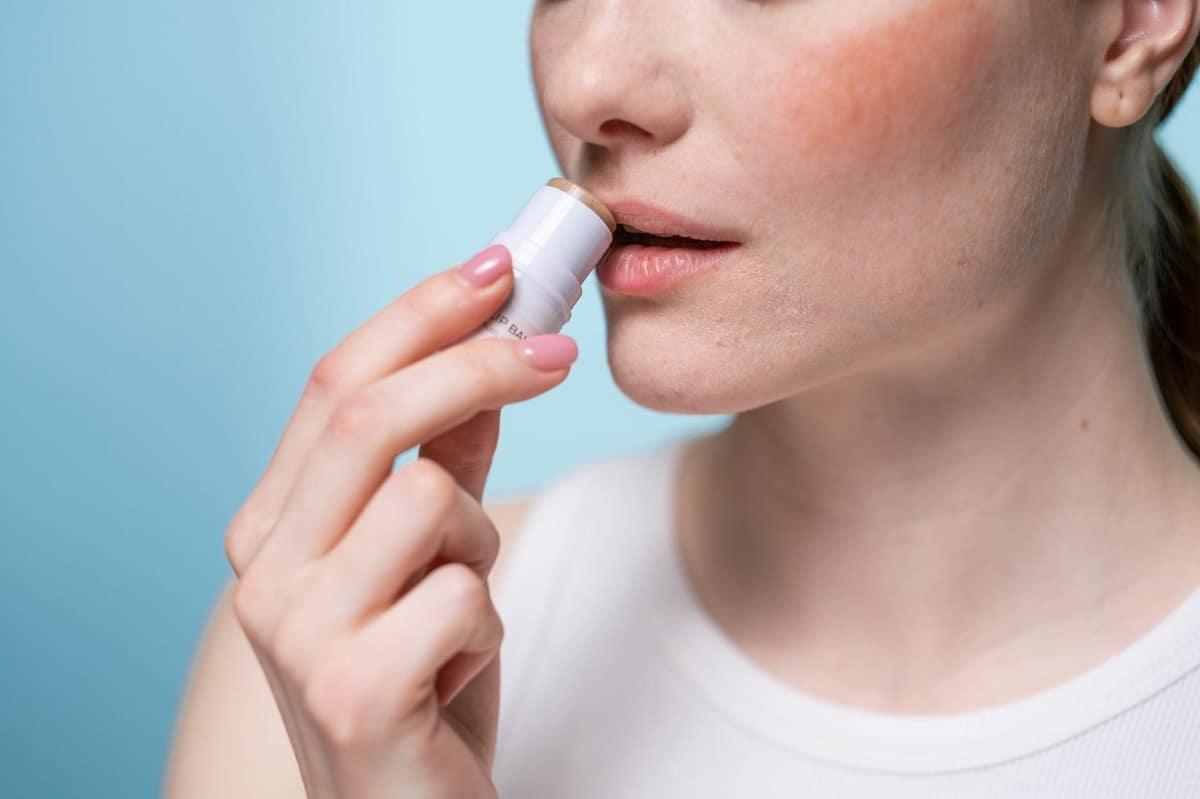 Protección de los labios en otoño