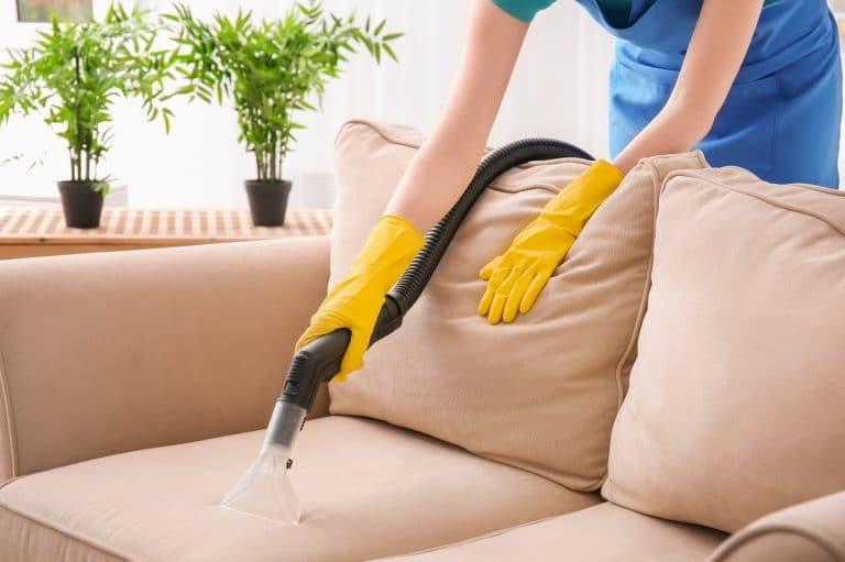 Limpiar sillas de tela