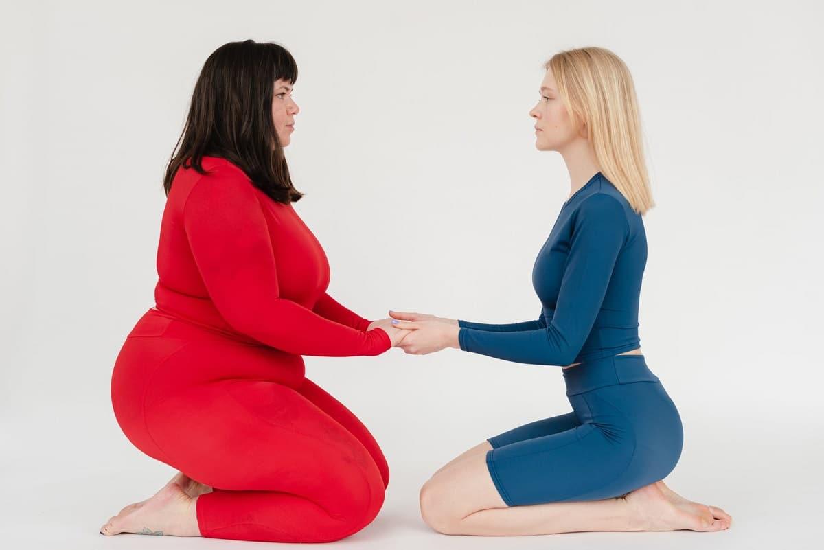 Estar delgado y tener salud