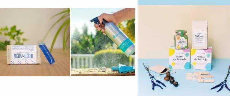 Productos sostenibles de limpieza