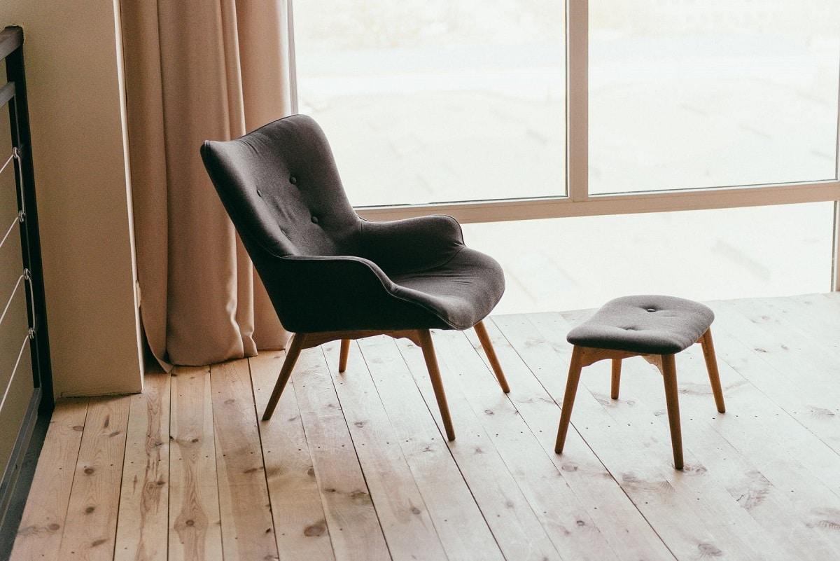 Limpiar las sillas de tela