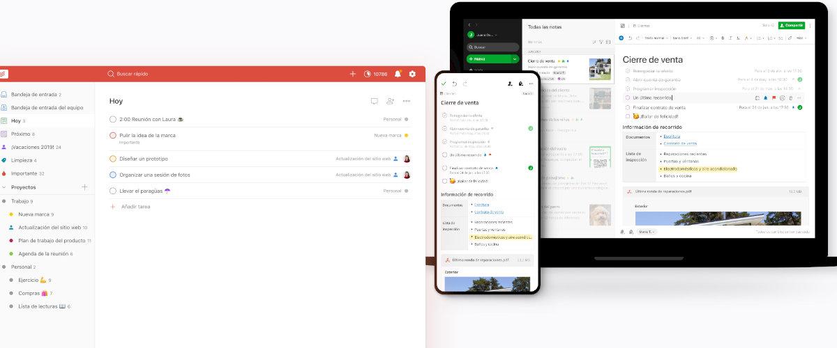 Aplicaciones para organizar tu trabajo