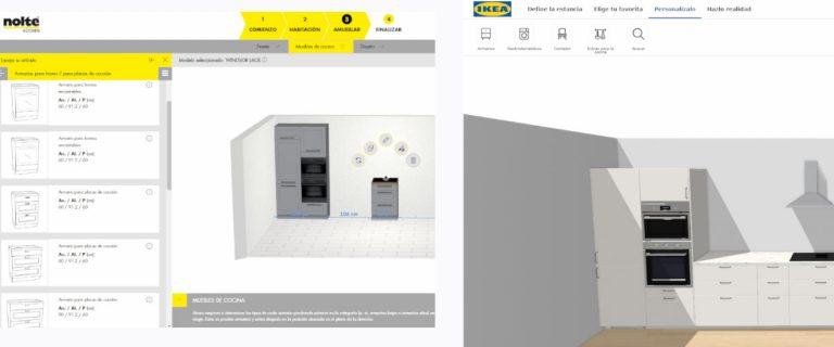 Diseña tu cocina online