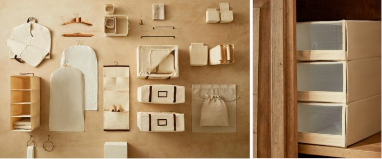 Colección vestidor de Zara Home